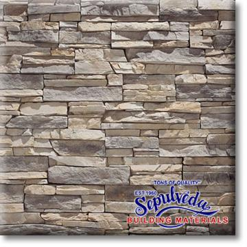 Click for a Large Photo of Stacked Stone- Alderwood